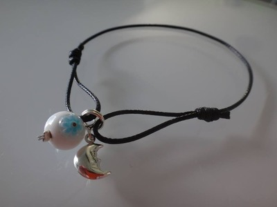 Tuto bracelet noeuds coulissants