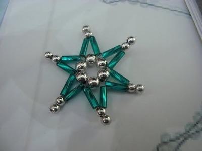 Tuto étoile en perles