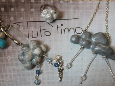 [♥✿ Tuto Fimo : Nuage ✿♥] ~ [♥✿ Polymer Clay Tutorial : Cloud ✿♥]
