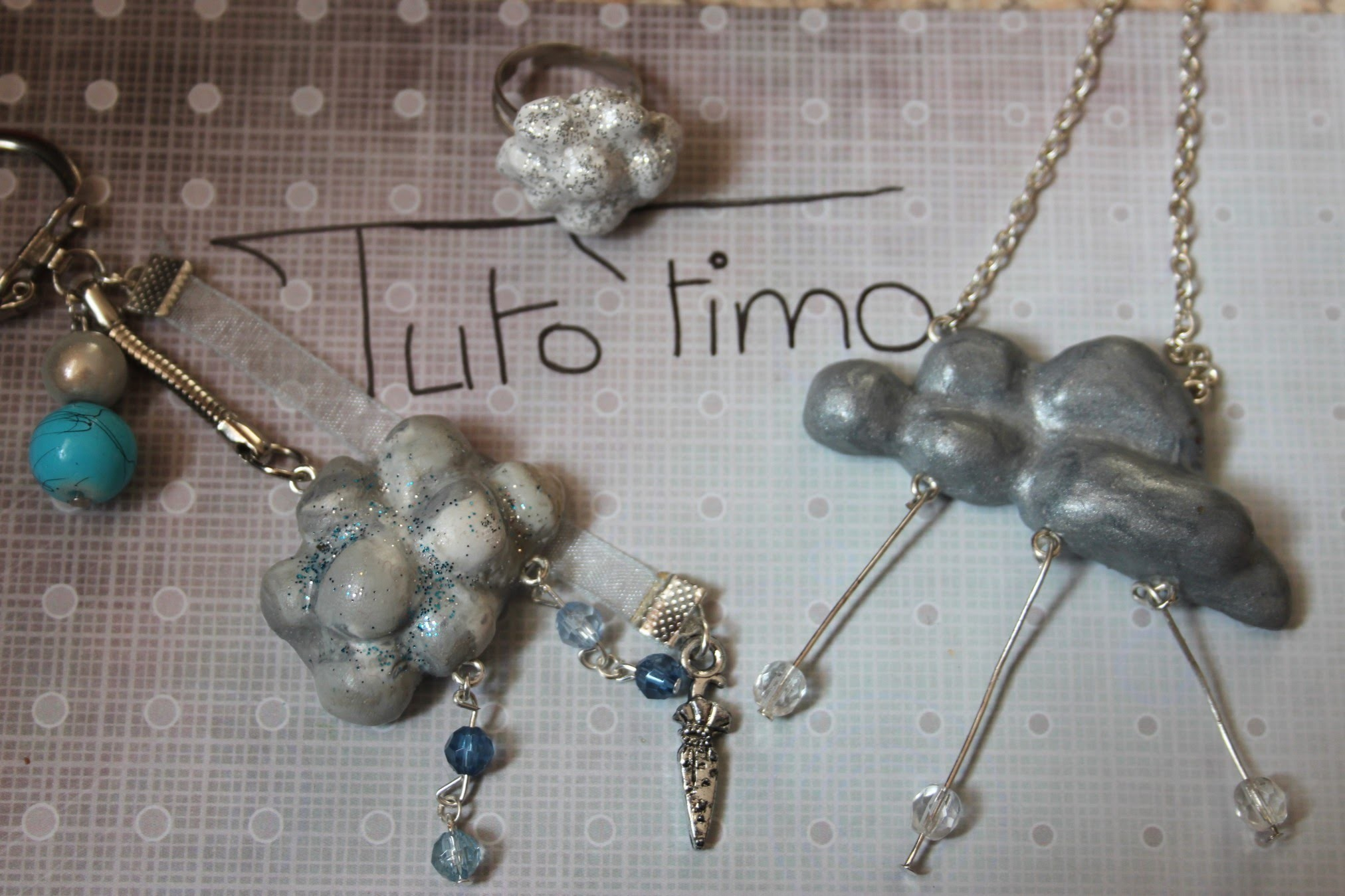 [♥✿ Tuto Fimo : Nuage ✿♥] ~ [♥✿ Polymer Clay Tutorial : Cloud ✿♥]