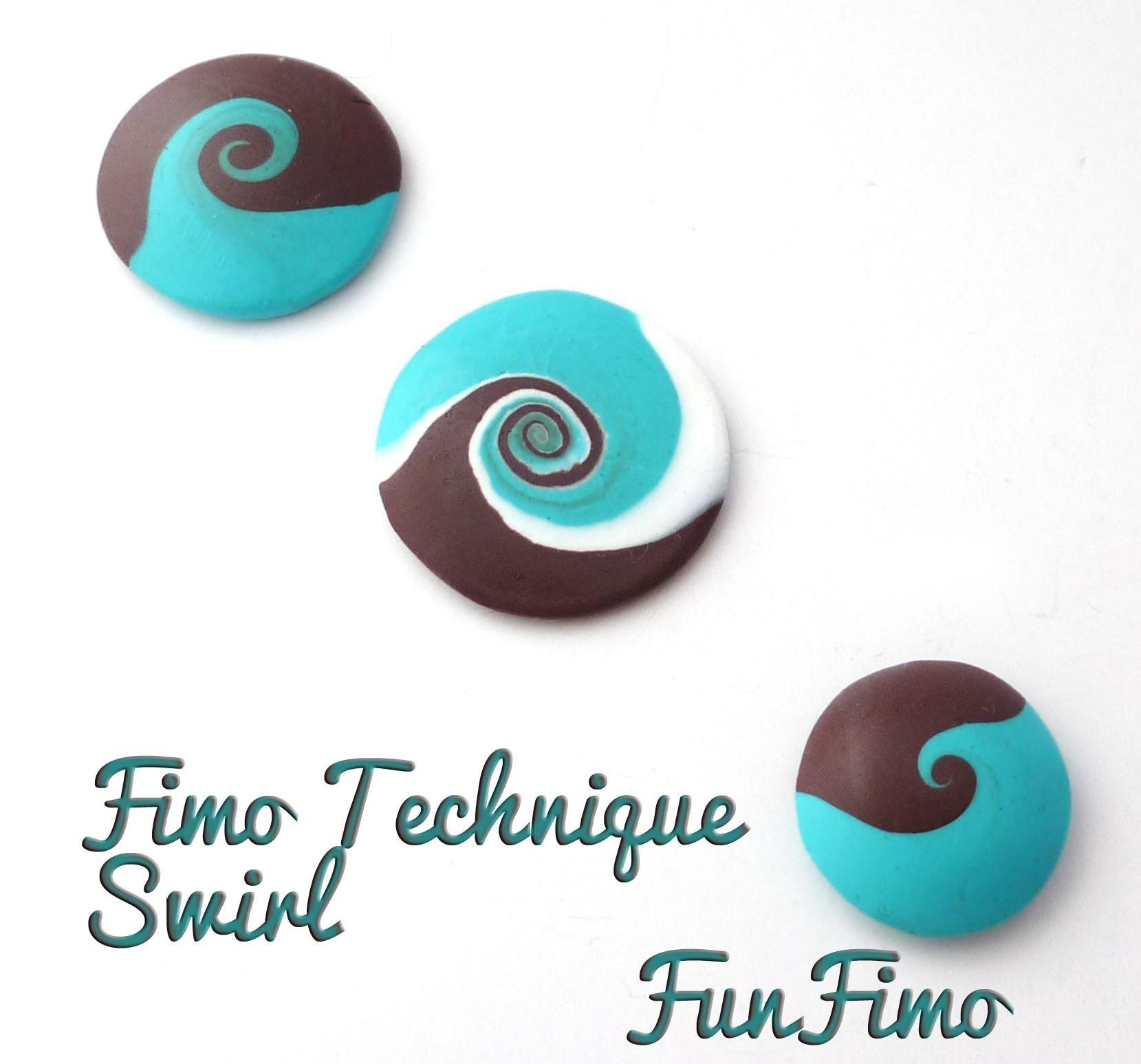 Tuto Fimo - technique Swirl by FunFimo