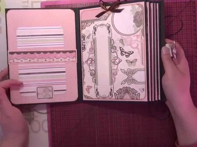 Tuto scrap - Journal intime - part 6 (carnets et couverture)