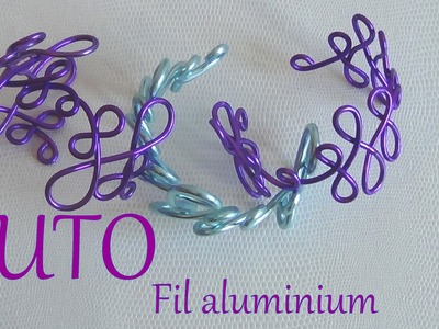 [ TUTO] bracelet en  fil aluminium avec planche wig jig #2