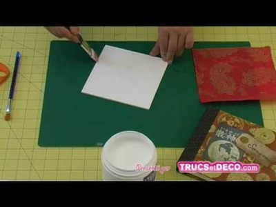 Découpe d'angles d'un carton