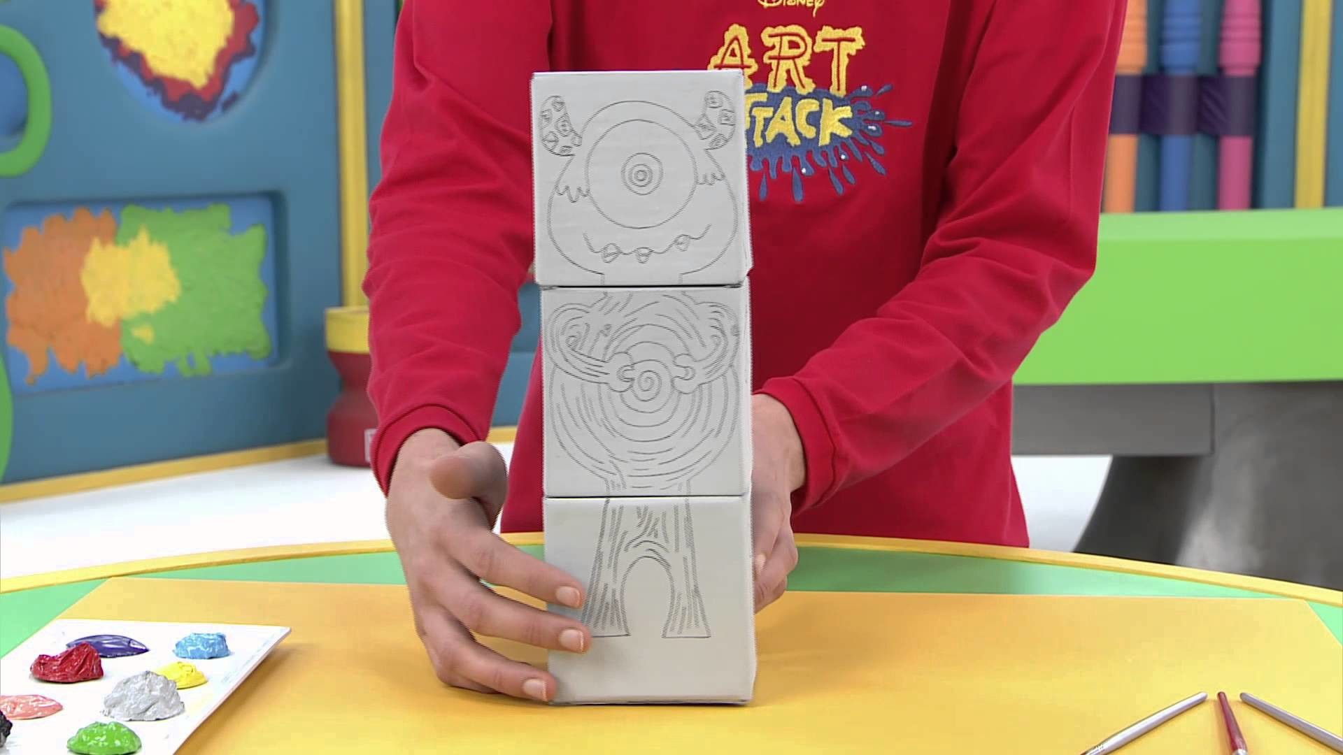 Disney Junior - Art Attack :  Générateur de personnages - En Français