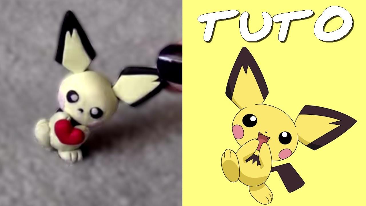 TUTO FIMO | Pichu (de Pokémon)