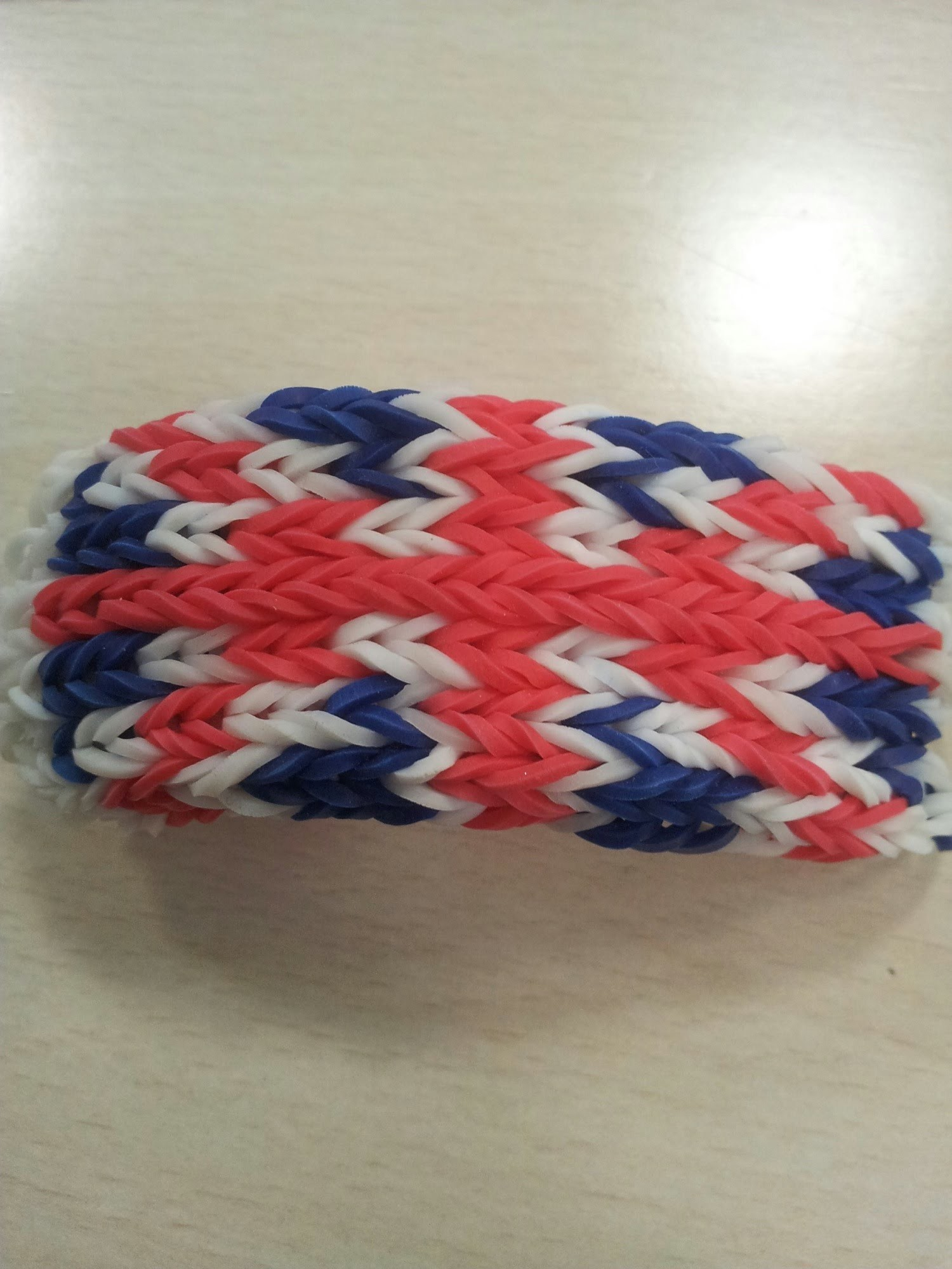 Tuto : bracelet rainbow loom 7 rangs Angleterre