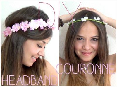 DIY │Headband.couronne de fleurs ▵ Alyssia