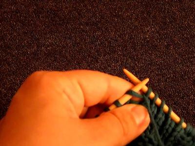Apprendre à tricoter : tricoter 3 fois la même maille