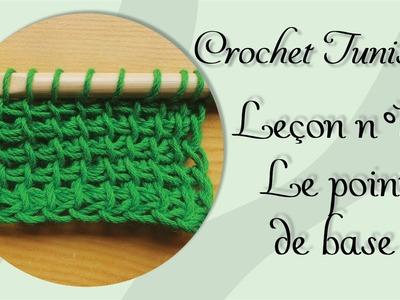 [Tutoriel] Crochet Tunisien - Leçon 1 : Le point de base