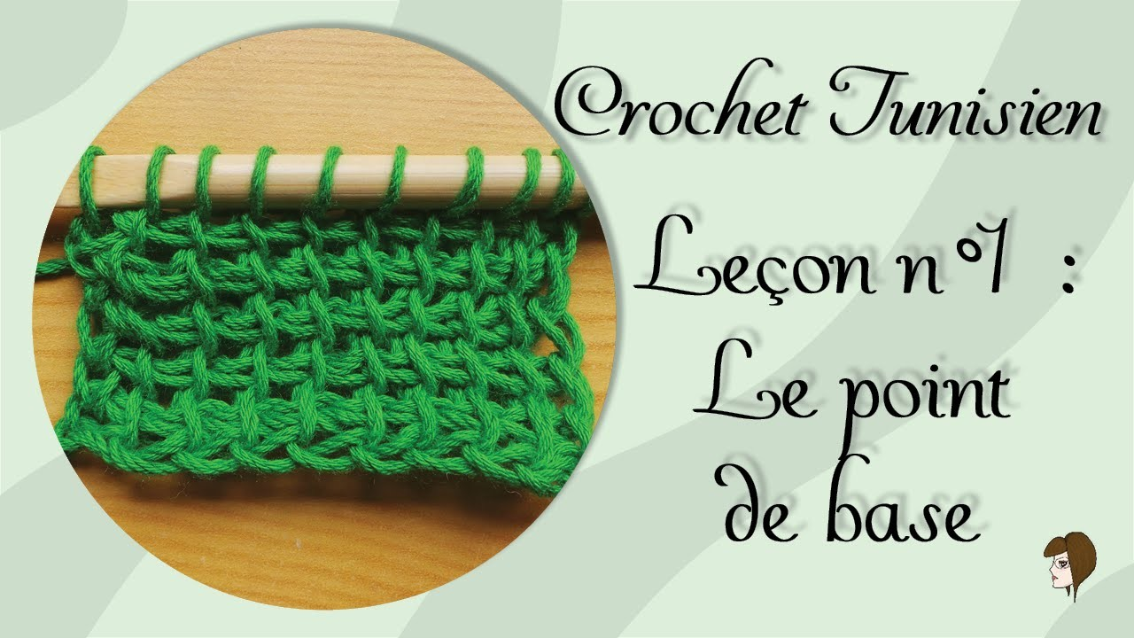 [Tutoriel] Crochet Tunisien - Leçon 1 : Le point de base