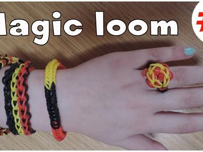 """Magic Loom """" réalisation d'une bague """""""