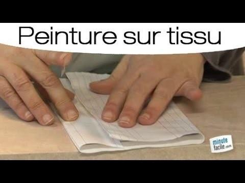 Peinture sur tissu : Personnaliser un tissu avec un tampon