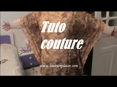 Tuto couture madalena une pochette arrondie my crafts and diy projects - Comment faire une tunique sans patron ...