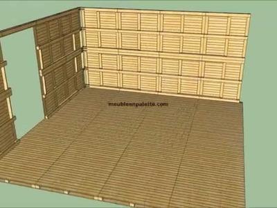 Comment construire une maison avec des palettes
