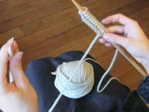 Cours de tricot 3 - point mousse