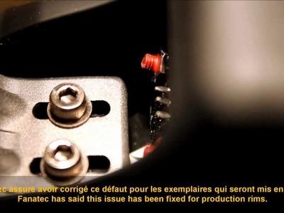 Fanatec BMW M3 GT2 rim (pre-production) - shifting paddles issue