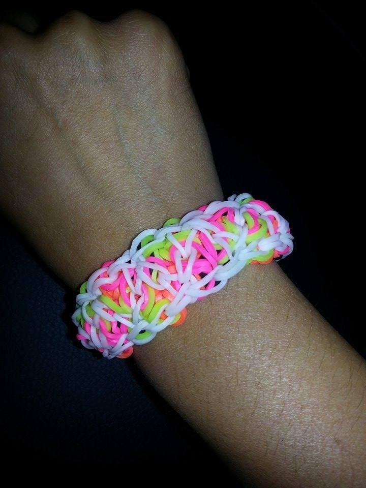 Le Bracelet Casse-tête en Loom Tutoriel en Français