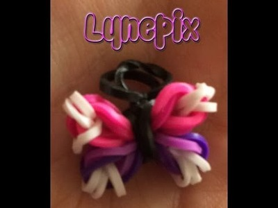 Loom #2 Papillon Charm (en français)(Rainbow Craz Loom)