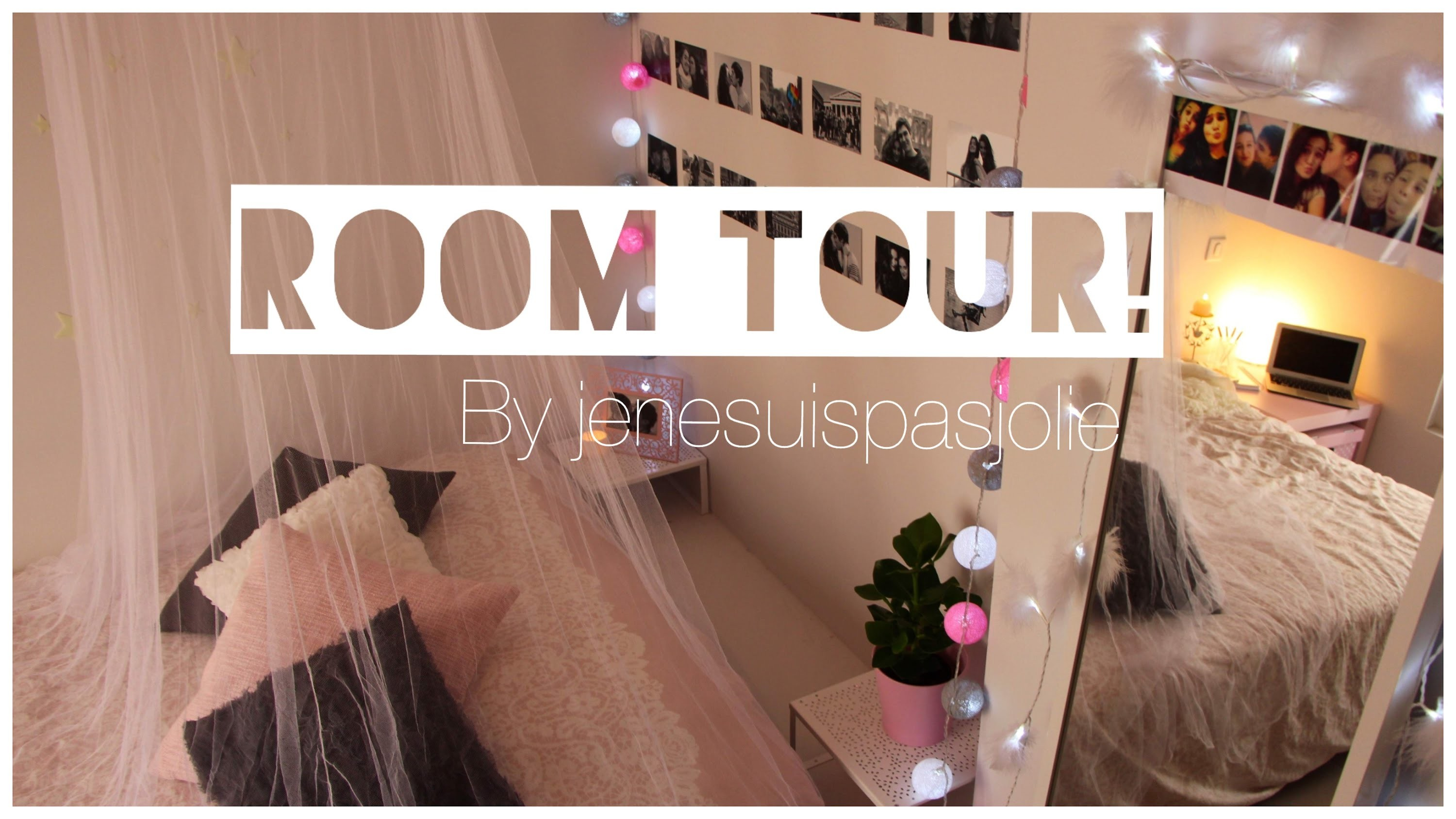 ROOM TOUR l Jenesuispasjolie !