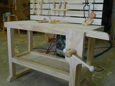 Travail du bois - construction d'un petit établi