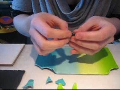 Tuto fimo - Water Color Mosaïc.wmv