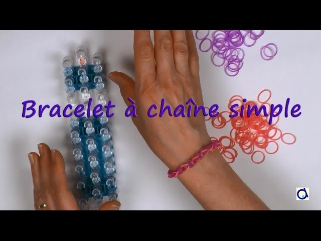 Comment faire un bracelet loom