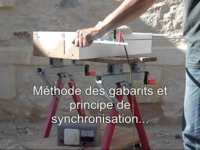Création d'un moule en polystyrène pour pilastre en pierre reconstituée