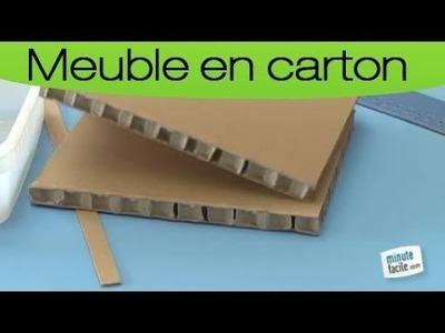 Création de meuble de rangement en alvéolaire