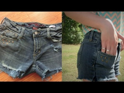 DIY: Fabrication d'un Short en Jean!