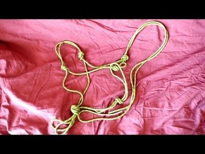 Fait maison - Licol en corde