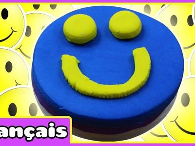 Gâteau Souriant en Pâte à Modeler | How to Make Play Doh Happy Face Cake | Play Doh Creations