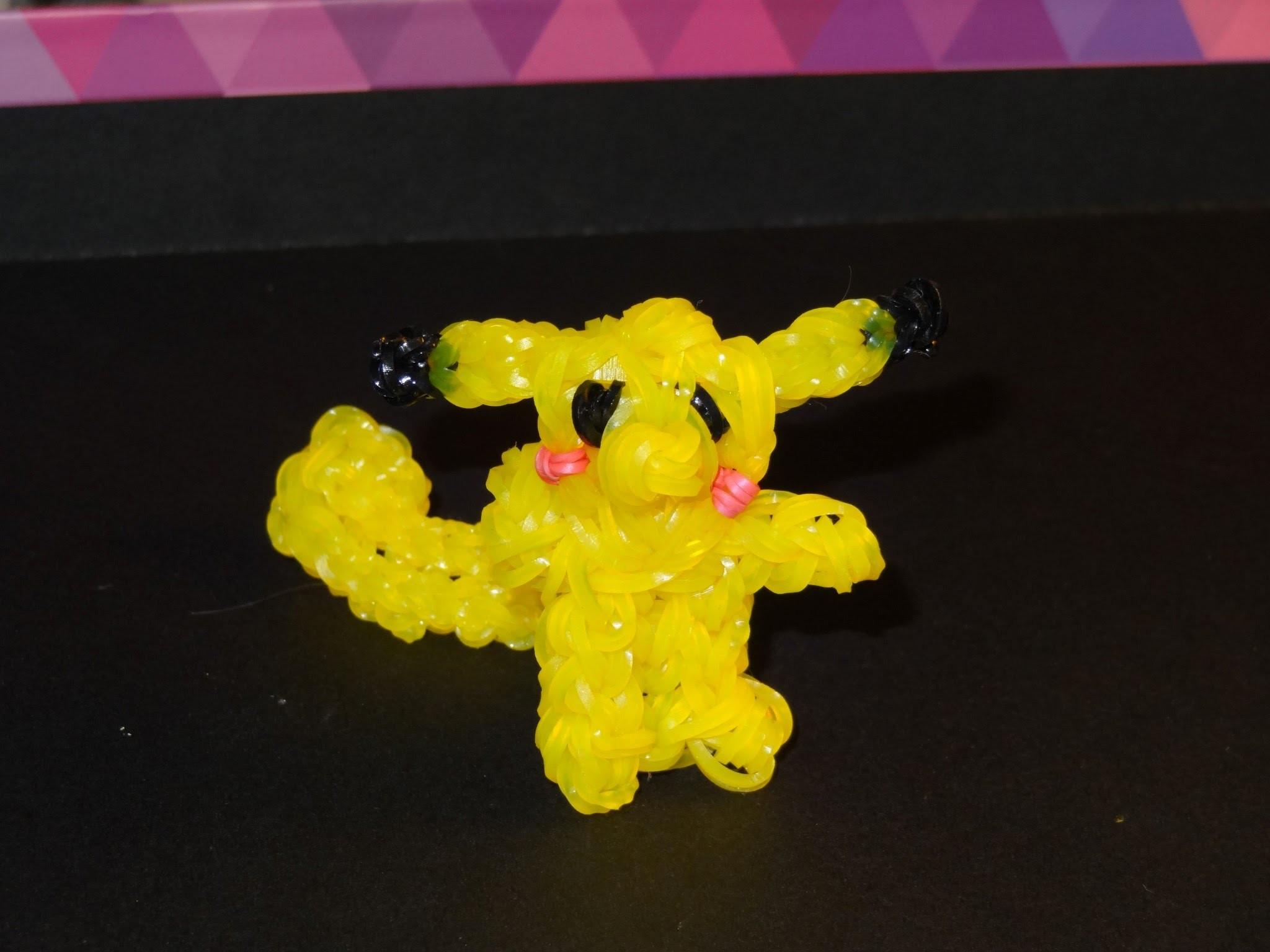 Pokemon Pikachu Rainbow Loom
