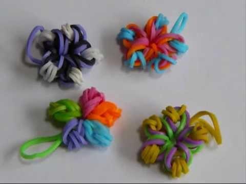 Tuto Bracelet élastique : Petites fleurs