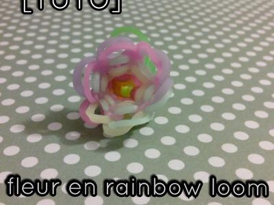 [TUTO] fleur en rainbow loom