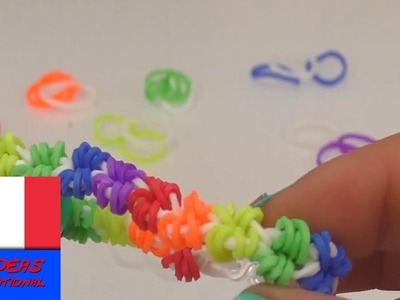 Tutoriel pour bracelet en élastiques crazy looms français