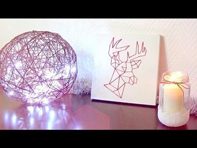 DIY│3 Déco Hivernales ▵ Alyssia