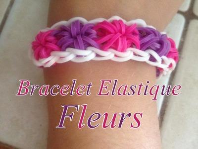 """[TUTO] Bracelet élastique """"Fleurs"""""""