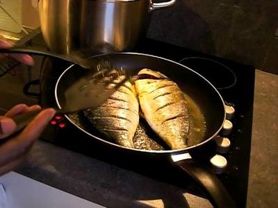 En cuisine avec coco(dorade royale à la poele)