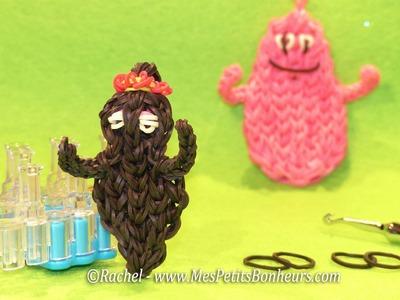 Barbamama en élastiques Rainbow Loom - Tutoriel de la maman Barbapapa