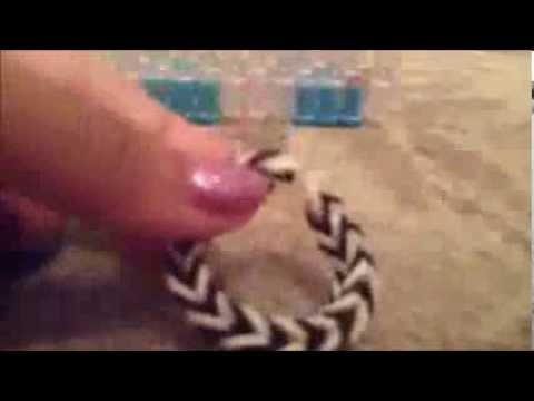 Bracelet fishtail Rainbow Loom explications françaises