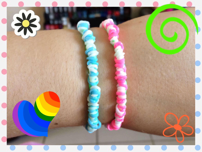 Loom #9 Bracelet Wraptor (en français)(Rainbow Cra'Z Loom)