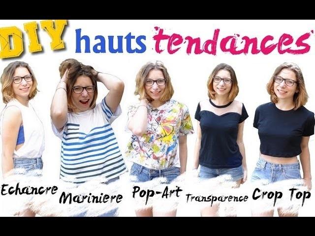 ✄- DIY n°16┆5 HAUTS TENDANCES ! (tutos faciles)