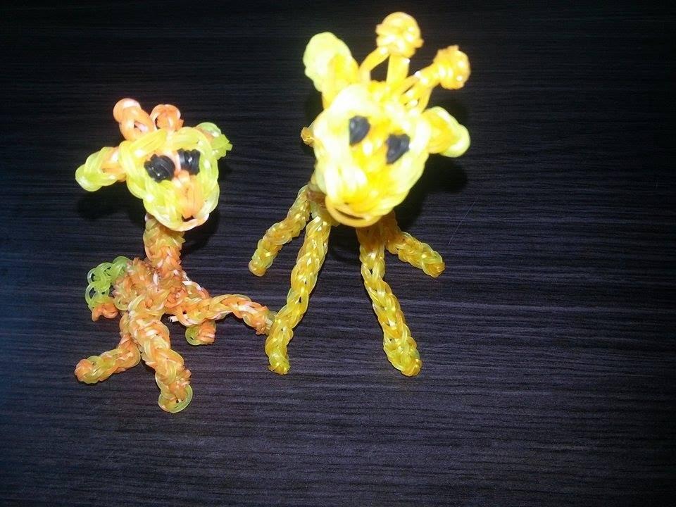 Girafe en Loom Tutoriel en Français