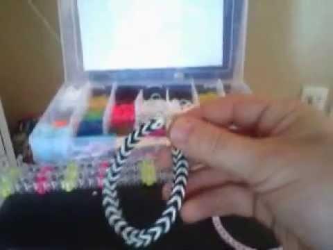 Bracelet collier rainbow loom francais