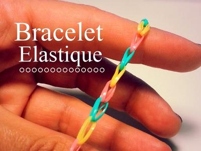 Bracelet bracelet avec lastiques et perles repasser facile bracelet diamant cr te rainbow - Comment faire bracelet elastique ...