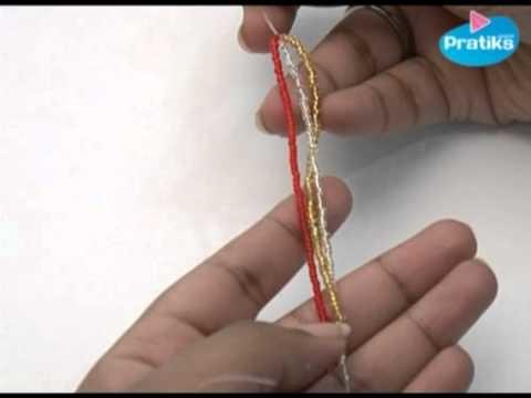 Comment faire un bracelet en Perles - Le Tressé
