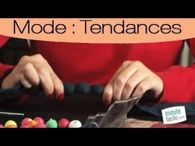 Comment réaliser un collier boules en tissu: Les étapes