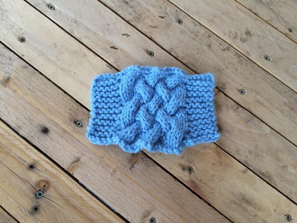 Tricot double torsade - Comment faire des torsades au tricot ...