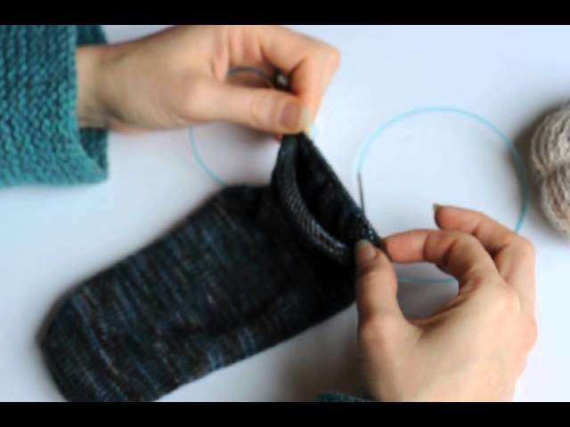 Tricoter en rond avec le magic loop